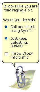 Clippy does SYNC