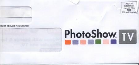 Time Warner Envelope