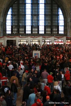 Dyngus Day at Buffalo Central Terminal