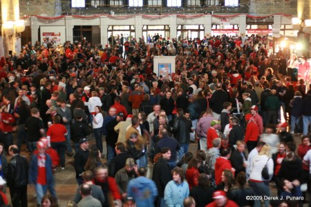 Dyngus Day at the Central Terminal