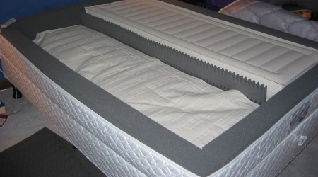Select Comfort Sleep Number Bed cause of the dip in the middle, known as the trench effect
