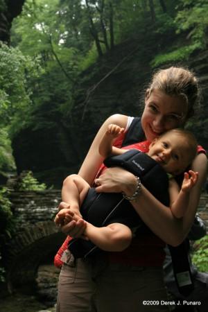 Ariella and Mommy at Watkins Glen