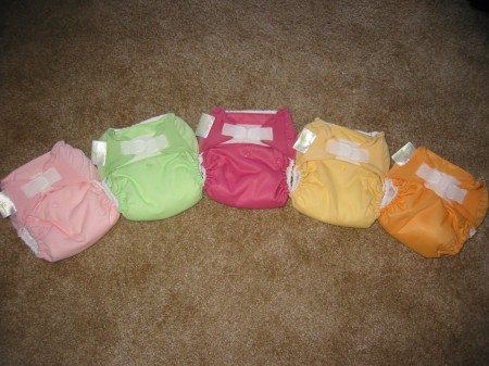 My rainbow cloth diaper connection