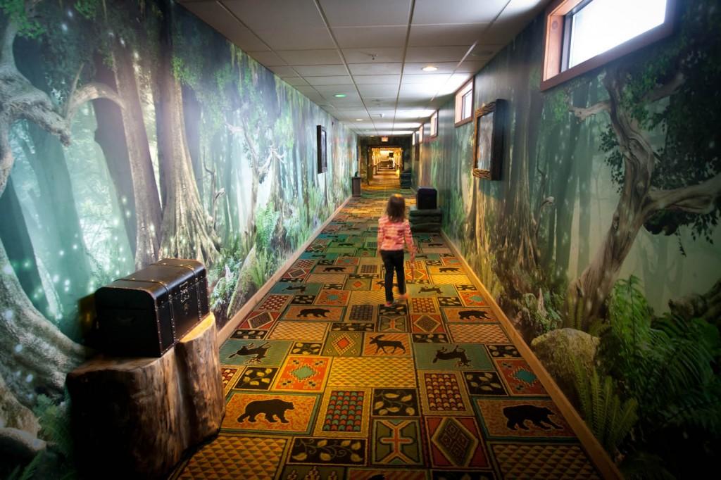 MagiQuest Hallway