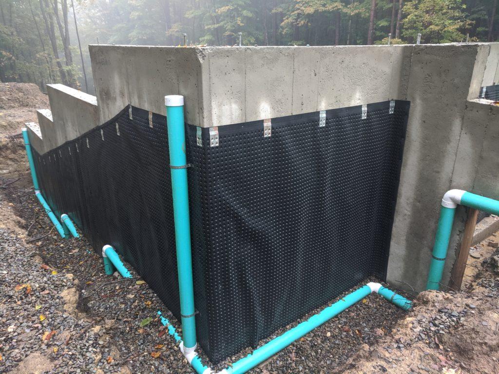 Rear drainage